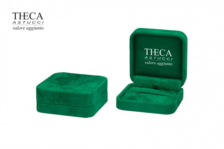 Jewelry boxes Jewelry box luxury Corfu Corfu presentation box for pendant 70x70x27 green