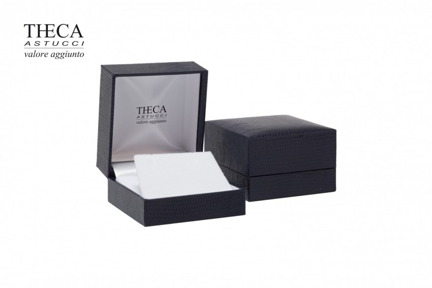 Jewelry boxes Jewelry box premium Basic Basic presentation box for pendant earring 64x68x40 blue