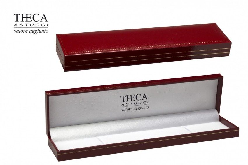 Jewelry box Wrapped boxes Thecaplus Thecaplus bracelet 220x55x22 red