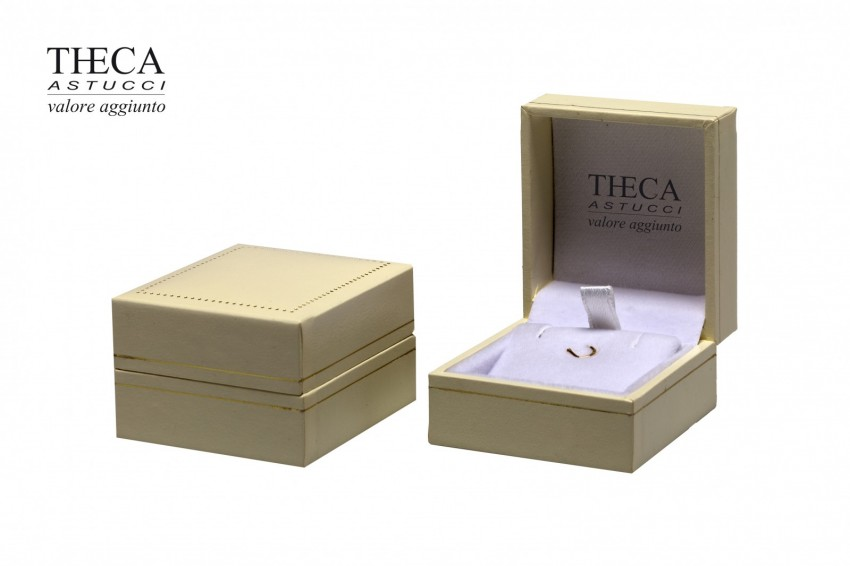 Jewelry box Wrapped boxes Thecaplus Thecaplus pendant 46x51x30 ivory