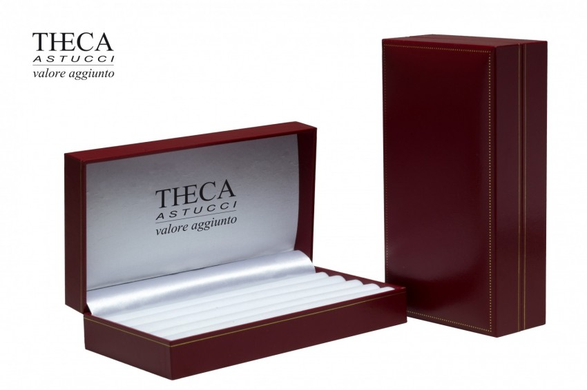 Jewelry box Wrapped boxes Thecaplus Thecaplus collection box 177x97x45 red