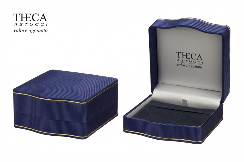 Jewelry boxes Jewelry box luxury Lord Lord presentation box for pendant 87x92x48 navy