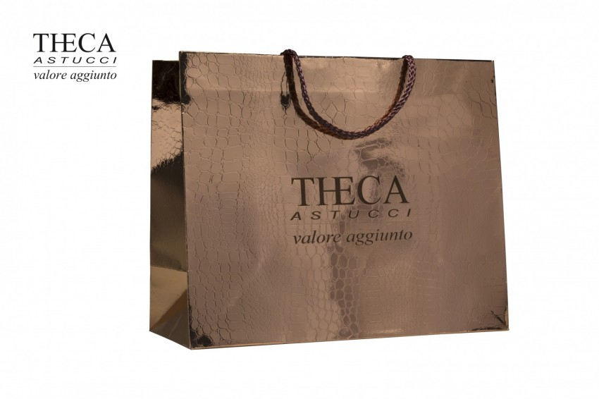 Shopper for jewelry Coated Shopper Frida shopper Frida shopper 41,5+15x35 copper