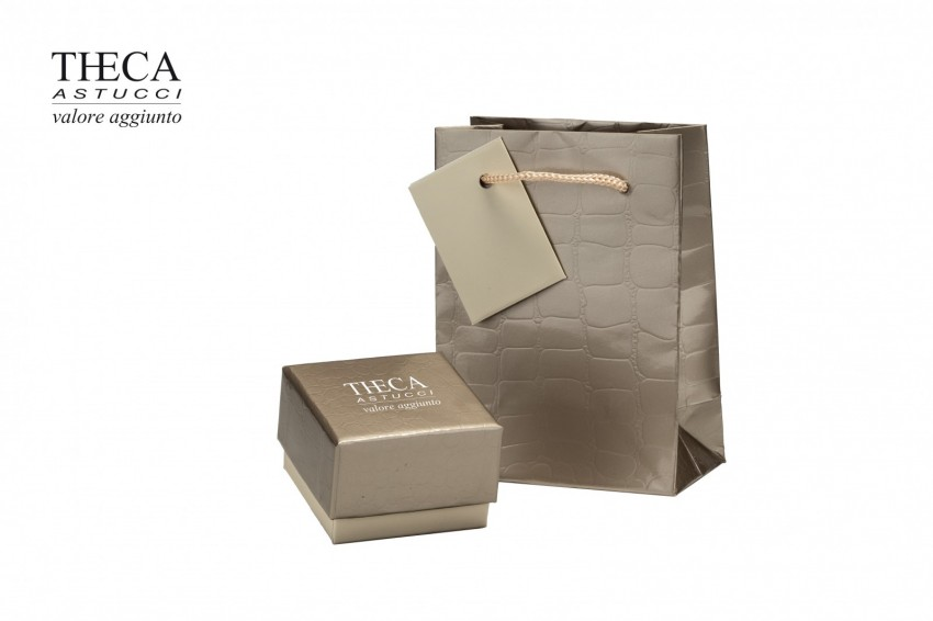 Jewelry boxes Jewelry box with gift bag Tania Tania presentation box with gift bag for ring 52x52x39