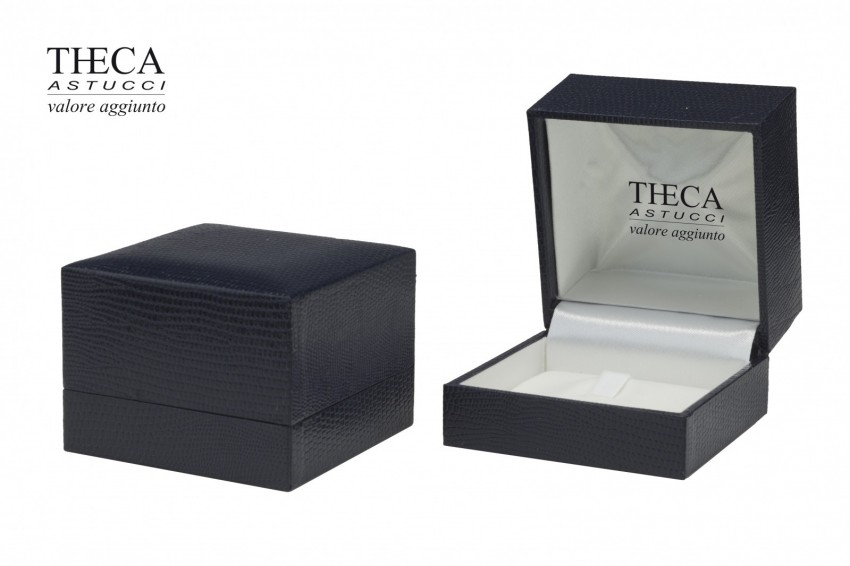 Jewelry boxes Jewelry box premium Basic Basic presentation box for ring 70x70x50 blue