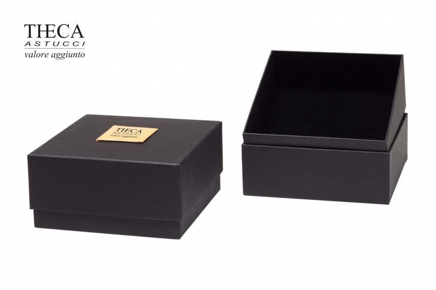 Jewelry box Carboard boxes Black magic Black magic all-purpose 126x126x63(45) black
