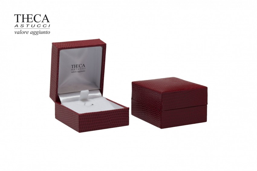 Jewelry boxes Jewelry box premium Basic Basic presentation box for earrings 47x52x31 red