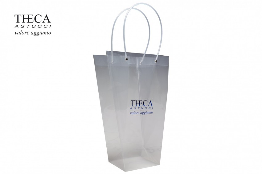 Shopper for clothing PVC shopping bag April shopper April shopper 15+15x42