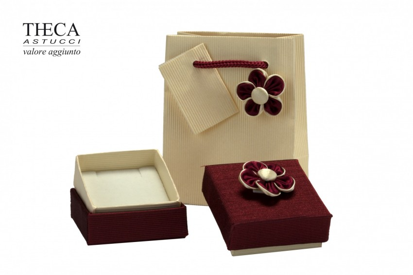 Jewelry box Carboard boxes Ilary Ilary universal 51x54x22 red