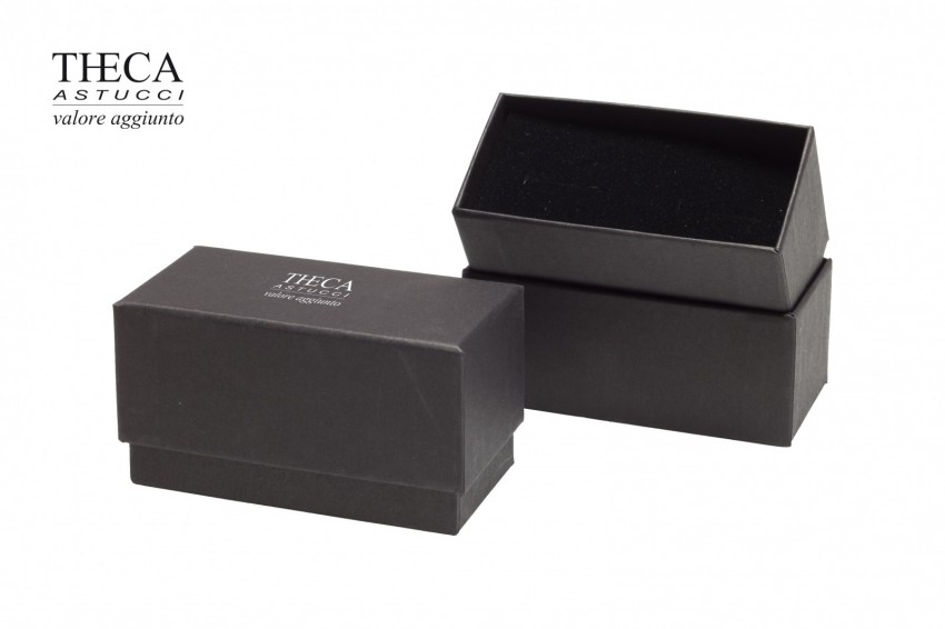 Jewelry box Carboard boxes Nude look Nude look cufflink 92x47x50(38) black