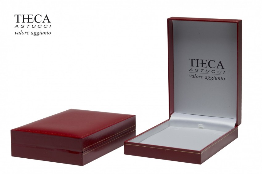 Jewelry box Wrapped boxes Thecaplus Thecaplus necklace 112x160x34 red