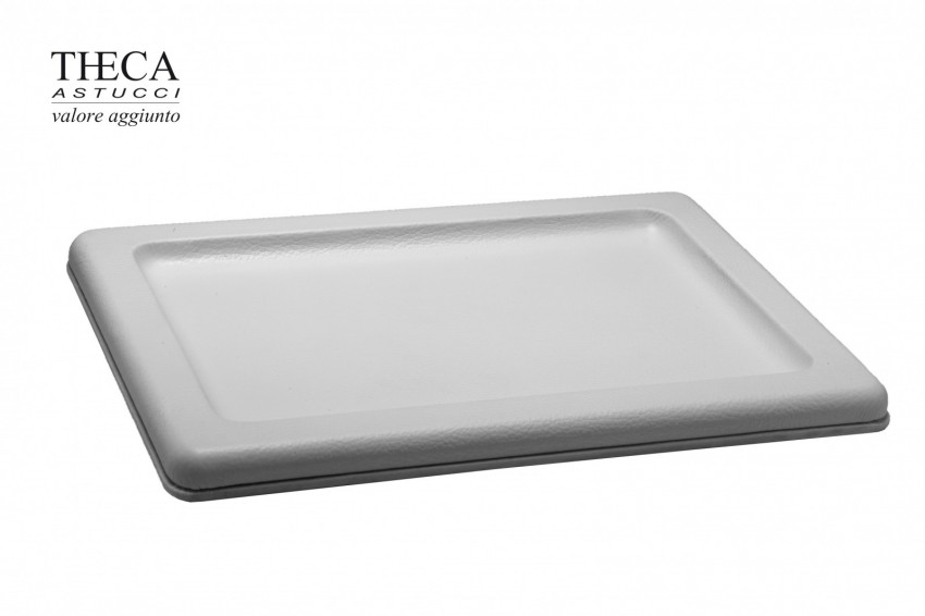 Jewelry display Trays Asia leather Asia real leather tray 350x255x20 white