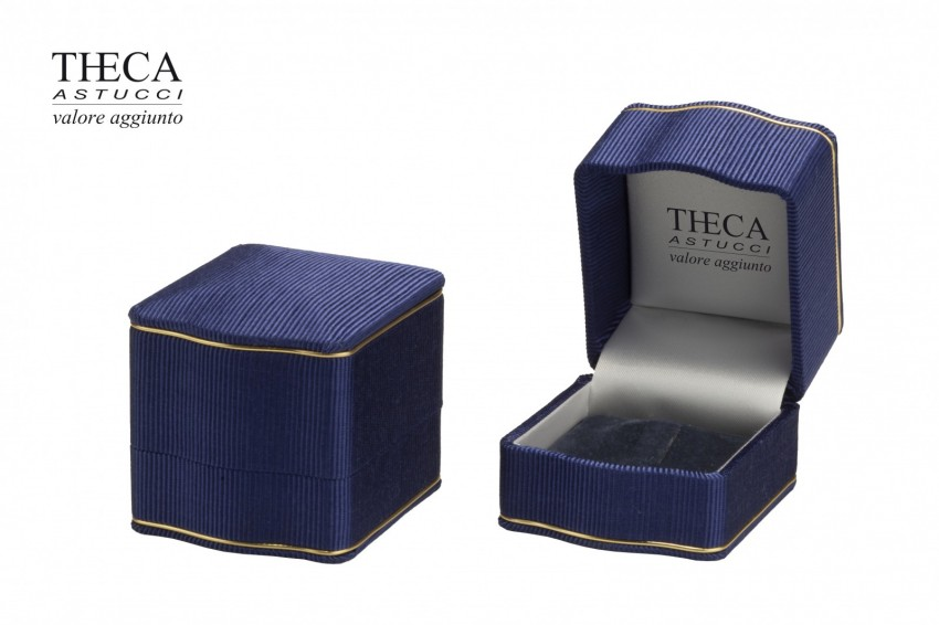 Jewelry boxes Jewelry box luxury Lord Lord presentation box for ring 55x60x55 navy
