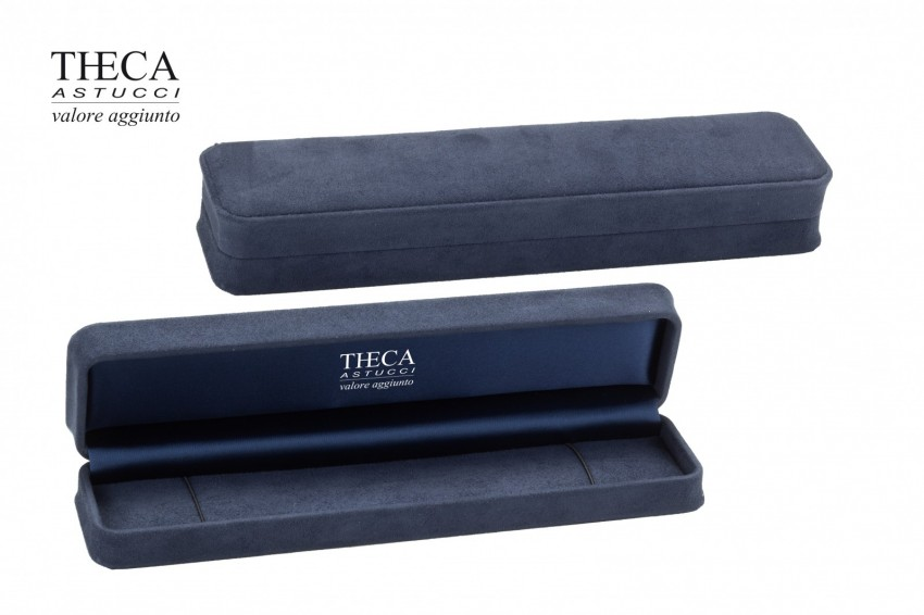 Jewelry box Wrapped boxes Mito Mito bracelet 240x55x40 navy