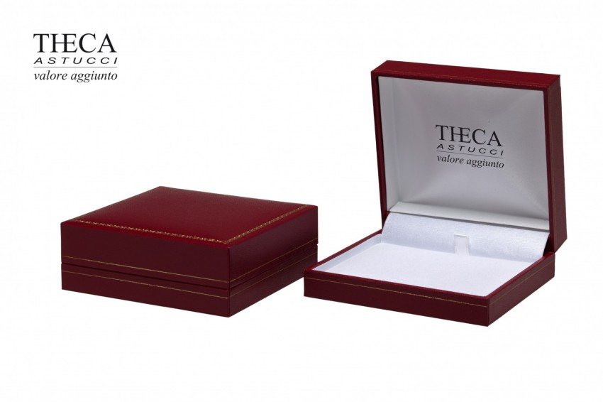 Jewelry box Wrapped boxes Thecax Thecax universal 85x81x32 red