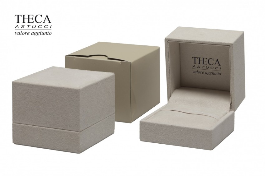 Jewelry boxes Jewelry box luxury Jula Jula presentation box for ring earring 65x67x54 ivory