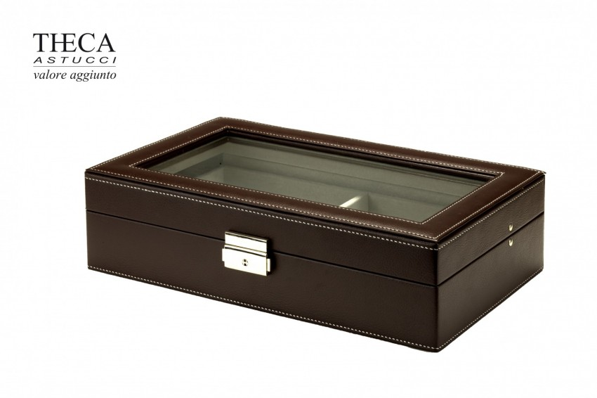 Jewelry supplies Jewelry collection box Shila Shila 6 sunglasses box 328x195x85 brown