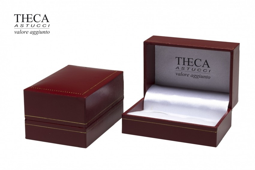 Jewelry box Wrapped boxes Thecaplus Thecaplus cufflink 75x50x40 red
