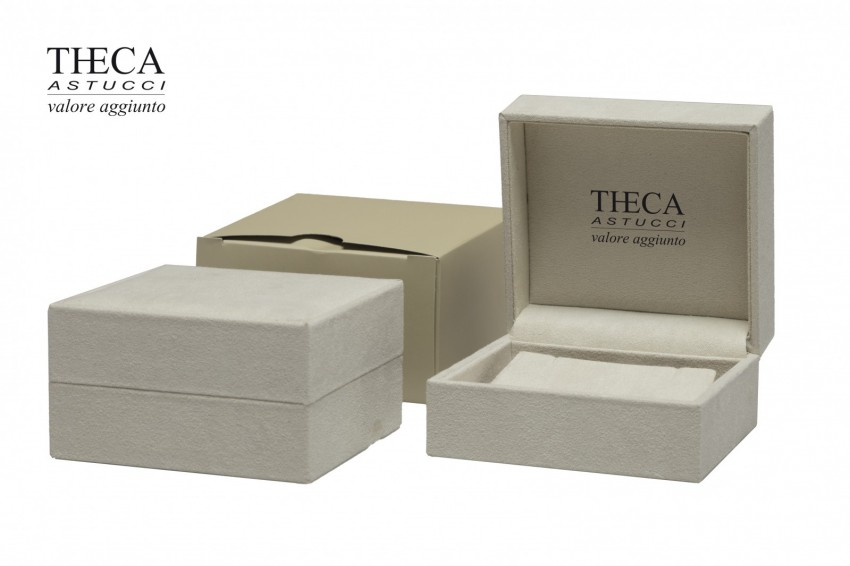 Jewelry boxes Jewelry box luxury Jula Jula presentation box for earring pendant 92x85x50 ivory