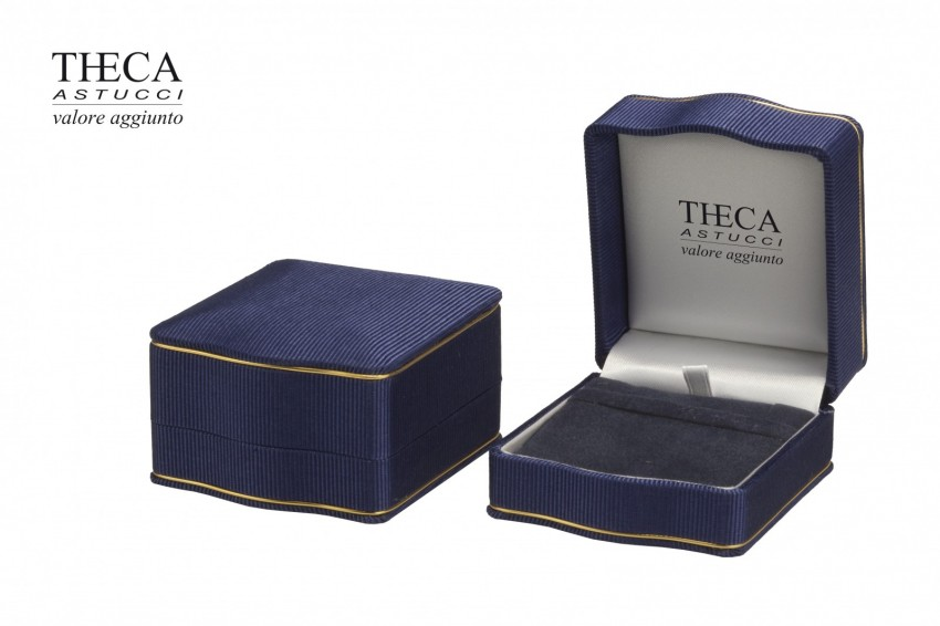 Jewelry boxes Jewelry box luxury Lord Lord presentation box for earring pendant 68x76x44 navy