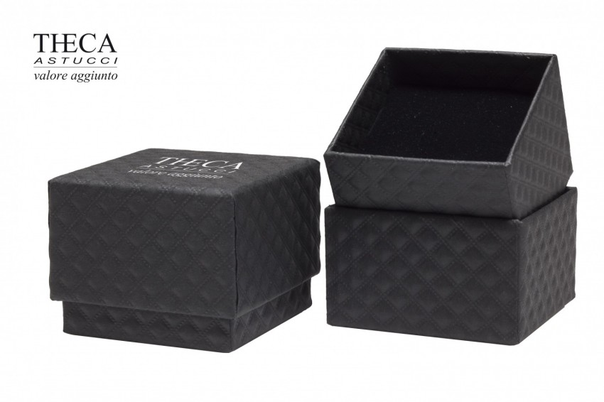 Jewelry box Carboard boxes Dune Dune ring 58x58x46(35) black