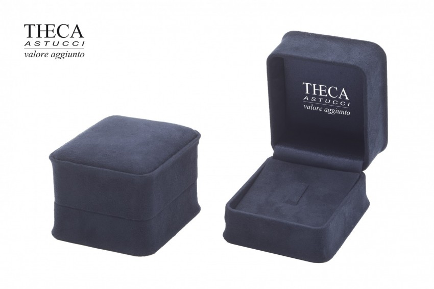 Jewelry boxes Jewelry box luxury Mito Mito presentation box for ring earrings 70x75x55 navy