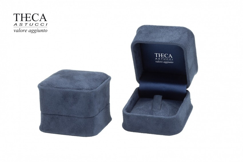 Jewelry box Wrapped boxes Mito Mito ring 55x55x45 navy