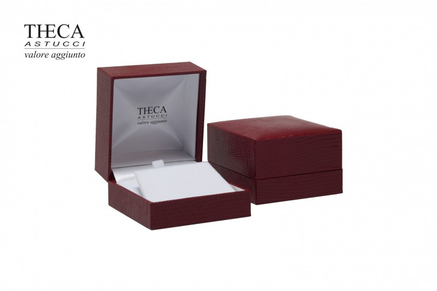 Jewelry boxes Jewelry box premium Basic Basic presentation box for pendant earring 64x68x40 red