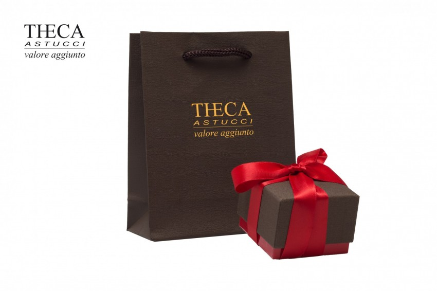 Presentation boxes Presentation boxes with gift bags Pepper Pepper presentation box with gift bag for ring 60x60x47