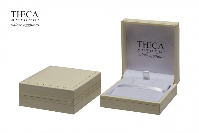 Jewelry boxes Jewelry box premium Theca Theca presentation box for earrings pendant 63x68x26 ivory