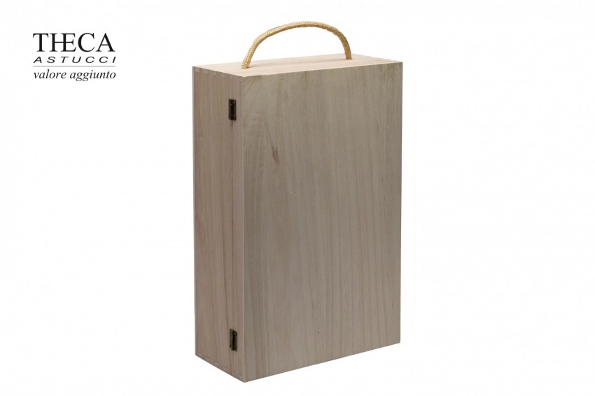 Gift bags Container for bottles Amarone cases Amarone wooden box for two bottles