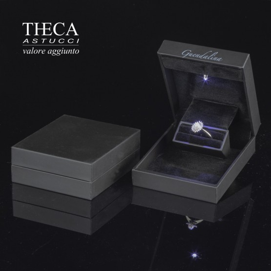 Jewelry boxes / Jewelry box with name / Solitario name