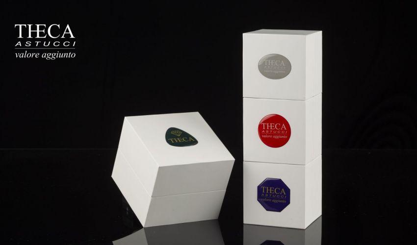 Jewelry box CUBO RUBBER